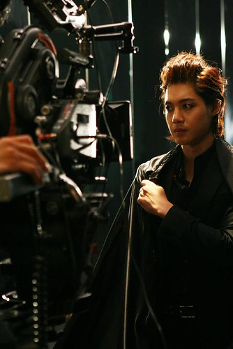 Kim Hyun Joong Hotsun CF BTS Photos