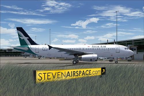 Silk Air A320