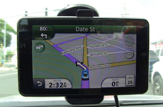 Stupid Garmin GPS