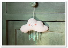 Rainy days (violetta testacalda) Tags: clouds softies plushes rainycloud violettatestacalda