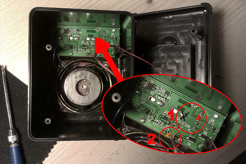 Toy Amplifier Hack points 1