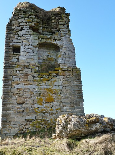 Remains of Corsehill Castle, Stewarton