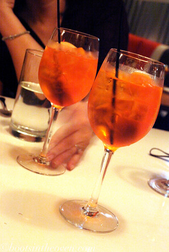 Always up for a spritz!