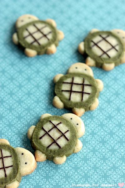 Diamonds for Dessert: Turtle Icebox Cookies
