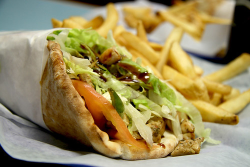 Jerusalem Bakery: Teriyaki Chicken Wrap