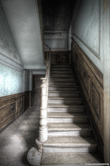 Stairs (Lucid Dreams Photo) Tags: old school urban castle abandoned stairs canon dark lost decay urbandecay eerie creepy forbidden staircase forgotten urbanexploration 7d chateau exploration oud trap hdr decayed trespassing ue kasteel urbex verboden vergeten beautifuldecay verlaten beautyindecay eos7d canoneos7d canon7d wimvandeneynde urbanexplorationbe