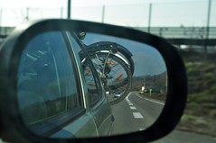road car bike highway voiture route autoroute rearview rétroviseur vélo a49 wingsidemirror
