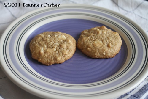 White Chocolate Cashew Cookies