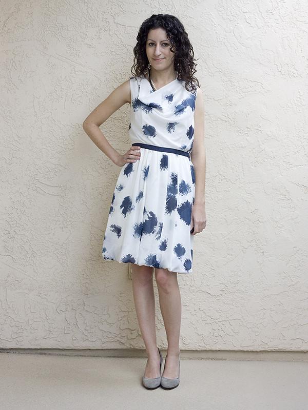 Ann Taylor Loft Petite Drape Dress 5 600