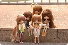 Dal Mini-Meet (-=april=-) Tags: rock doll dolls dal charlie arabella carly risa hayley addie obitsu drta daldrta dallizbel lizbel dalrisa dalsweetrisa