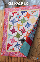 Firecracker (Jaybird Quilts) Tags: pattern quilt julieherman robertkaufman pieceocakedesigns jaybirdquilts nancymims lazyangleruler treasuresandtidbits pickabunch