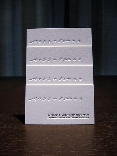 Moss + Isaac Letterpress Cards - Photo #2