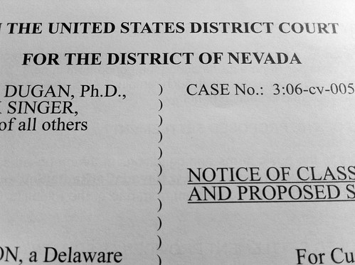 Mail from the United States District Court, District of Nevada.