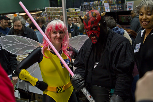 Wasp and Darth Maul - A heavenly pair