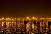 Lights of Magh Mela (vmukherjee_13) Tags: reflections silhouettes ganges sangam allahabad maghmela