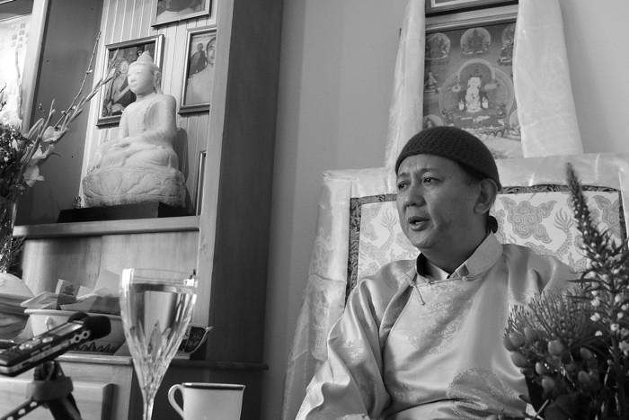 吉噶康楚仁波切开示:佛教在西方 - 坚华嘉措 - 坚华嘉措(本人的博客独此一家,绝无分店)