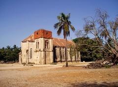 The old church of Carabane (Sokleine) Tags: church catholic exterior religion senegal casamance glise remains carabane