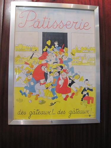 Paul Patisserie Poster