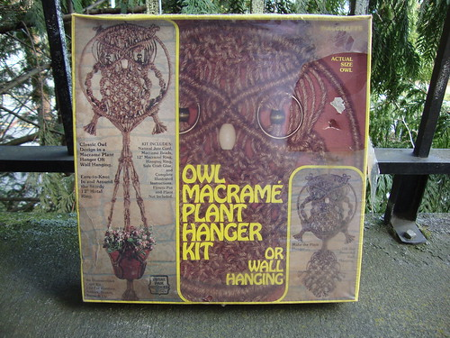 Owl Macrame kit!