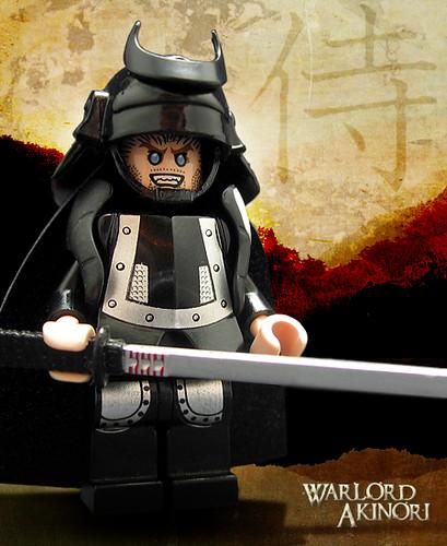 Custom minifig Warlord Akinori