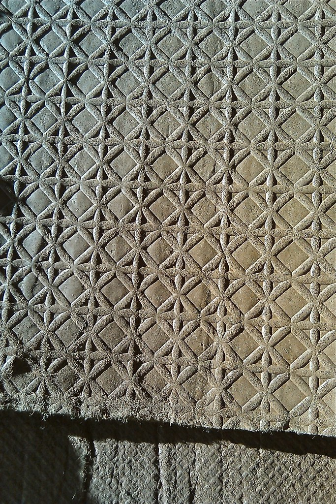 Felt carpet pad from historic Patrick Ranch house in Durham CA
