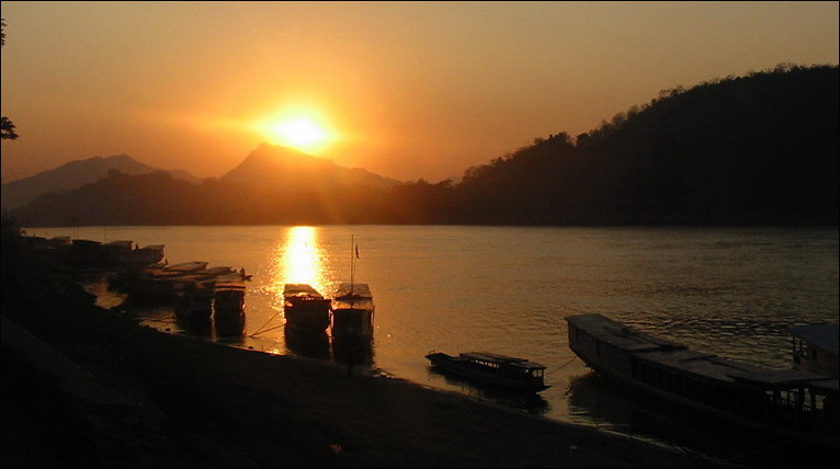 Sunset at Luang Prabang