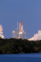 Discovery Lifts Off