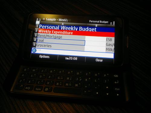Nokia E7 Office Doc