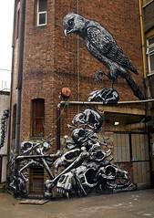 ROA (Alex Ellison) Tags: urban streetart animal graffiti mural blacklight southlondon peckhamrye roa busseybuilding