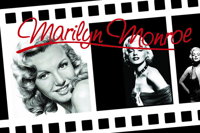 Marilyn Monroe - pop-card by -Eloi