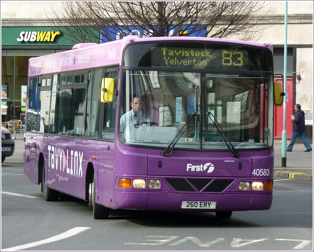 First 40583 260ERY 22 February 2011