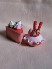 Docinhos em Feltro (Luciane P. Castro) Tags: cake felt cupcake feltro decoração presente docinho lembrancinha alfineteiro