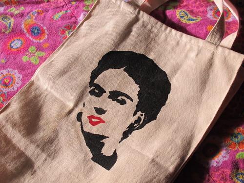 My lovely Frida bag