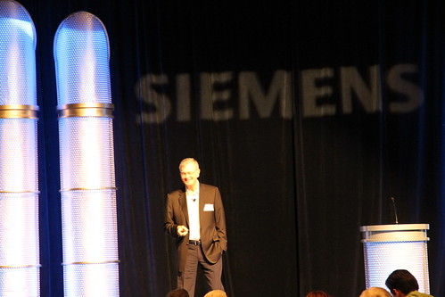 On Stage_Phil Combs, President of Belcan Corporation's Avdvanced Engineering & Technology Division