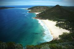 Zenith Beach, (super devoika) Tags: beach australia pacificocean nsw tasmansea