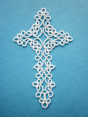 Lace cross