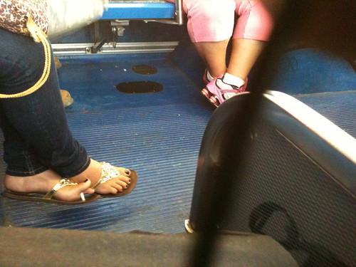 Mature latina feet