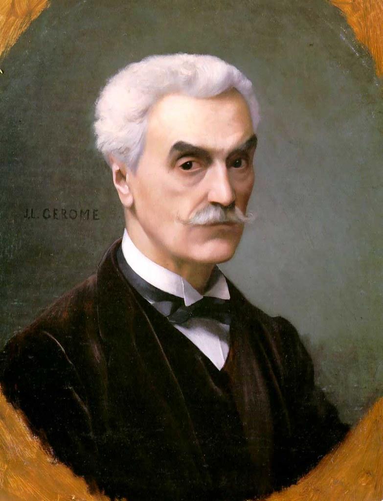 Jean-Léon-Gérôme-Self-Portrait-1886