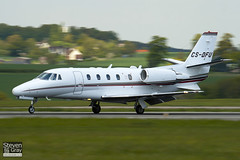 CS-DFU - 560-5520 - Netjets Europe - Cessna 560XL Citation XLS - Luton - 100517 - Steven Gray - IMG_2065