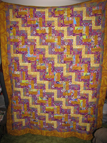 Triple Rail Ugly Quilt