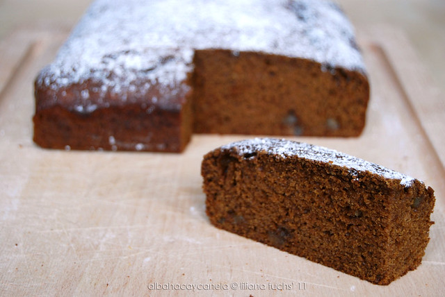 Triple ginger cake