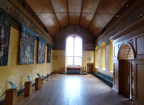Inside Chapel Royal, Stirling Castle