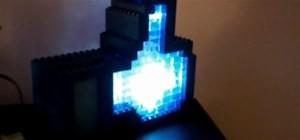 Un notificateur lumineux «J'aime» dans votre page Facebook, fait en Legos