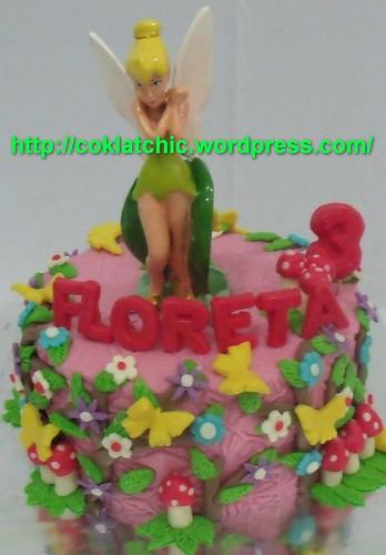 Kue Dengan Tema Tinkerbell Floreta Coklatchic Cake