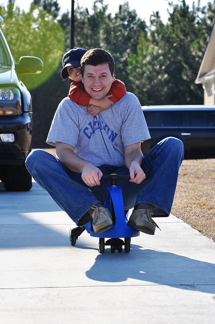 daddy riding