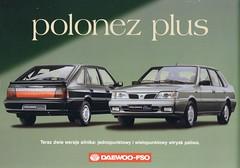 Daewoo-FSO Polonez Plus 1999 brochure (Poland)