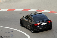 Audi RS5 (Raphal Belly Photography) Tags: black car french photography eos hotel riviera photographie f1 casino montecarlo monaco belly exotic 7d passion carlo monte hermitage audi raphael rb fairmont spotting gp supercars raphal rs5