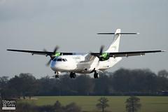 EI-SLN - 405 - Air Contractors - Aer Arann - ATR ATR-72-212 - Luton - 110309 - Steven Gray - IMG_0624