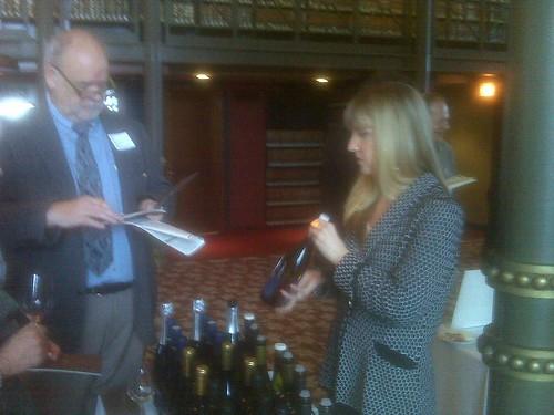 Peninsula Hotel wine tasting