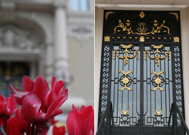 flowers and gates